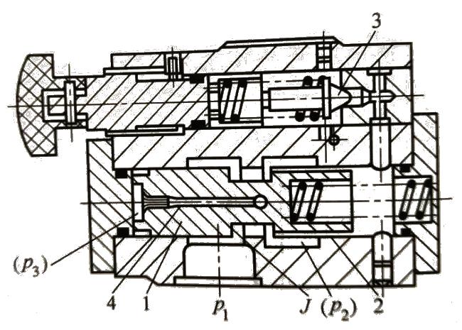 1-5先导式减压阀的结构