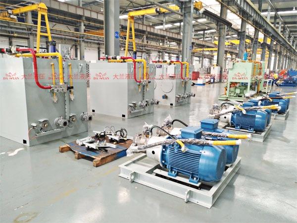 大兰液压系统生产车间2