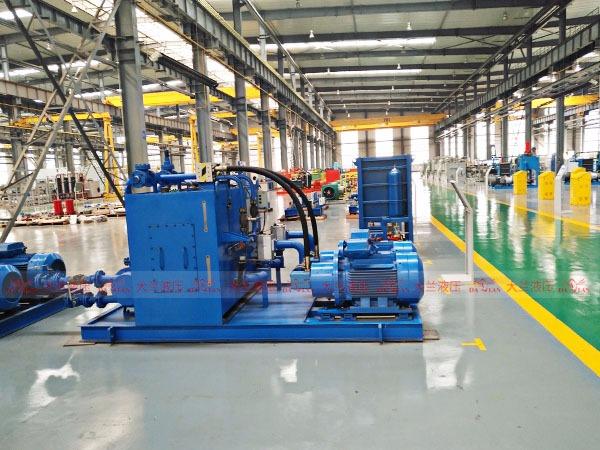 大兰液压系统生产车间