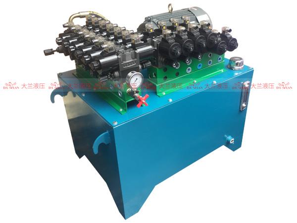 大兰液压7.5KW定量泵液压系统