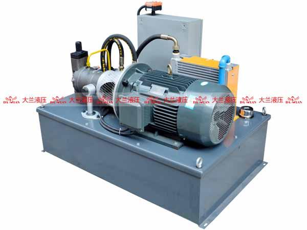 大兰液压压装机液压系统