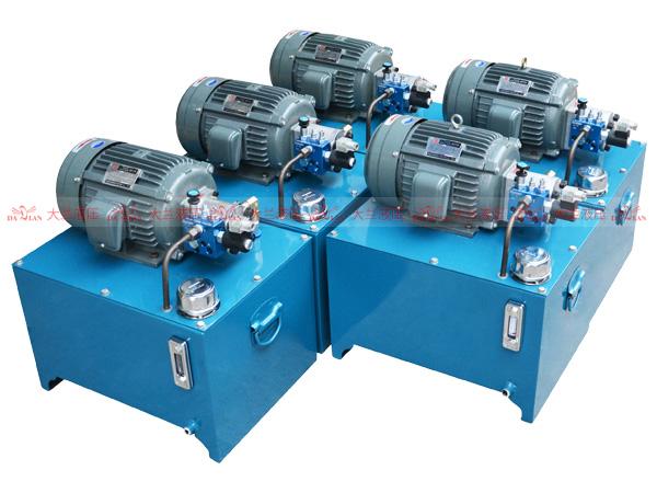 大兰液压2.2KW升降平台液压系统