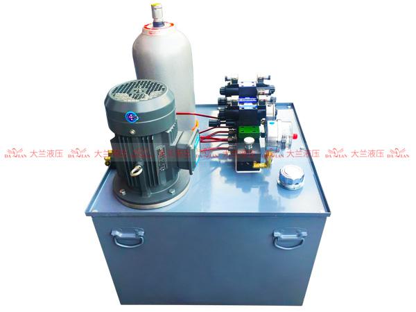 大兰立式保压液压系统