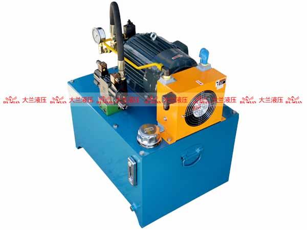 大兰1.5KW单缸液压系统
