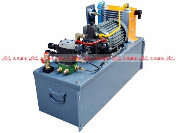 大兰液压砖机液压系统