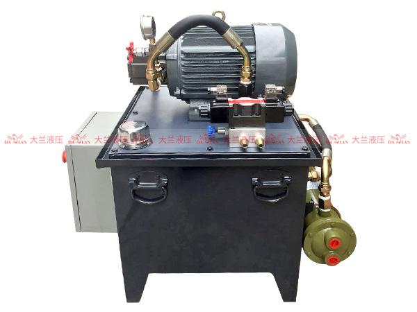大兰5.5KW无线遥控电箱液压系统