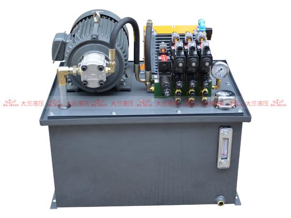 大兰液压系统液压站