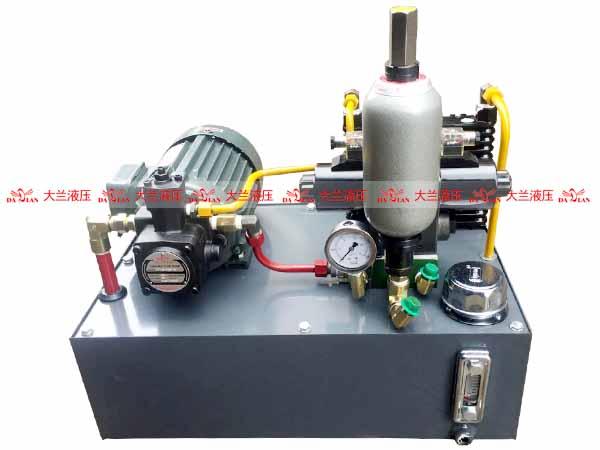 大兰旋压机液压系统