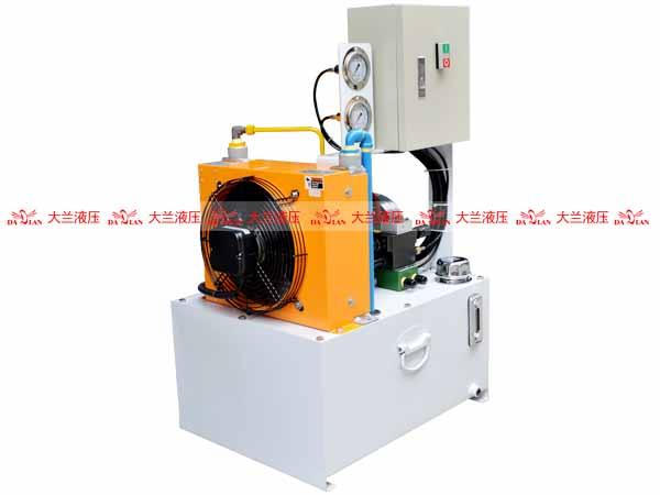 大兰液压泵站液压系统
