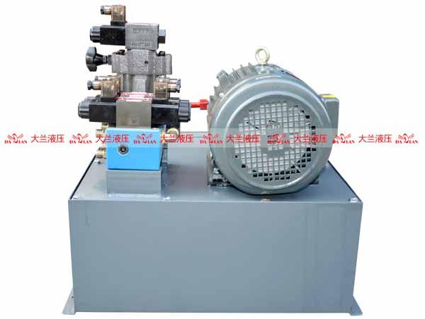大兰1.5KW油压机液压系统