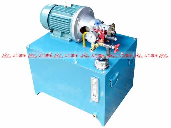 大兰升降机械液压系统