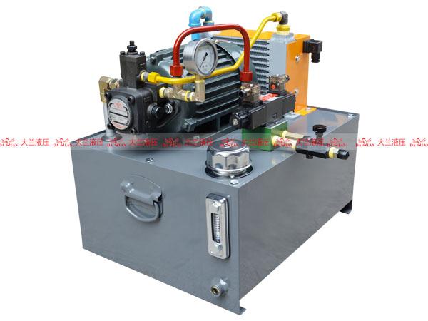 大兰数控机床液压系统
