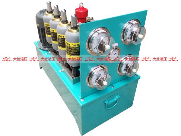 大兰5缸立式液压系统