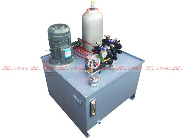 大兰液压电接点3路液压系统