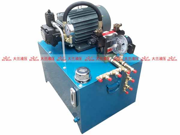 大兰液压四柱机液压系统