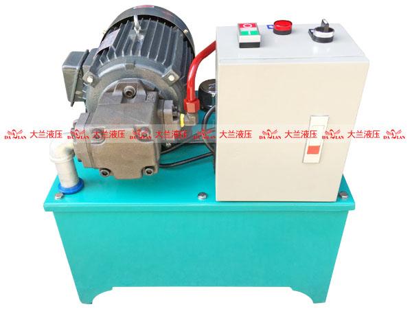 大兰中压电控箱液压系统