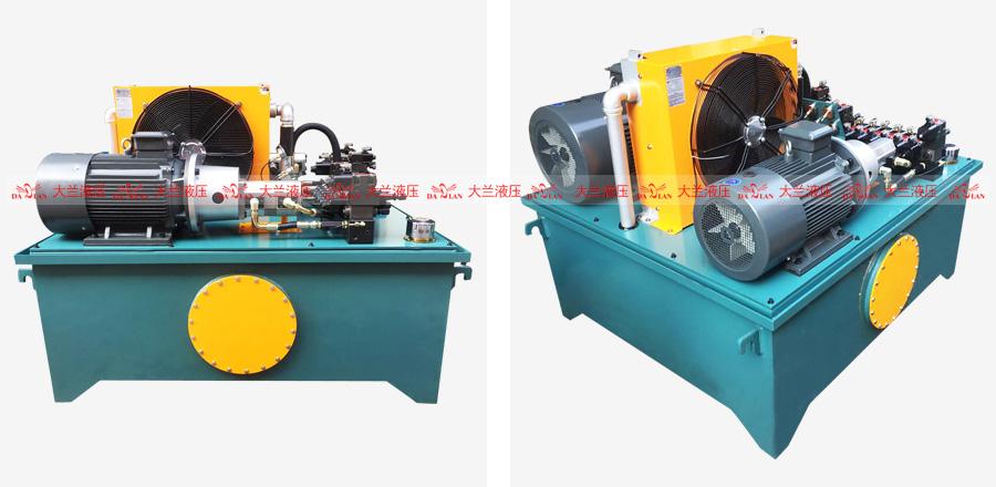 大兰37KW高能效节能电机液压站