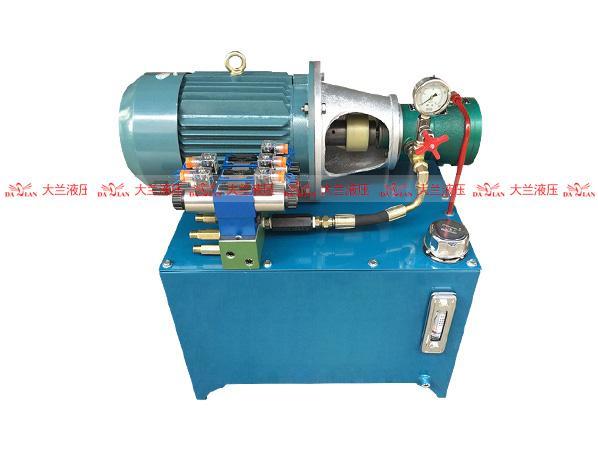 5.5KW高压液压系统