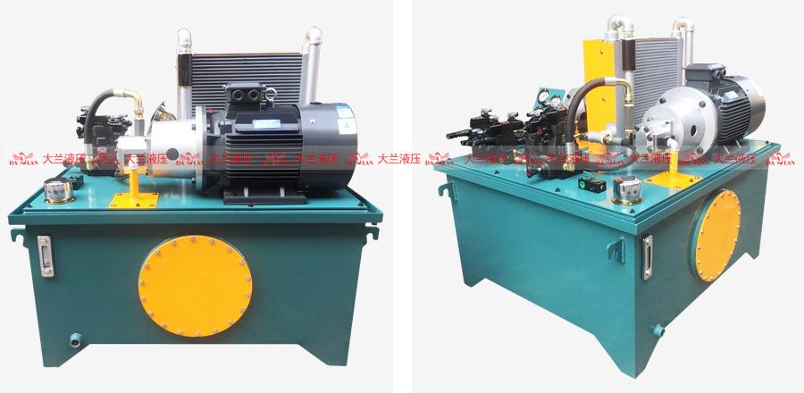 大兰双联泵液压系统