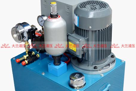 大兰3KW插装阀液压站