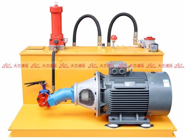 斜轴柱塞泵液压站