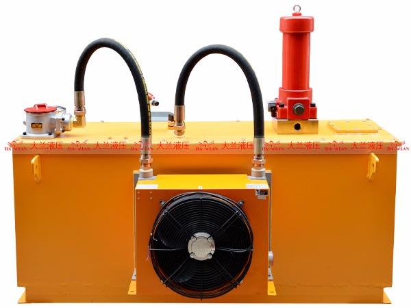 大兰斜轴柱塞泵液压站