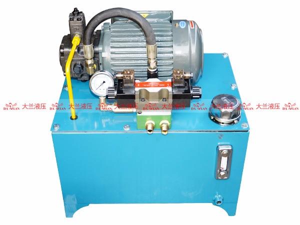 大兰单相液压电机系统
