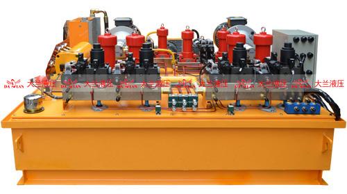 大兰大型环保液压站液压系统