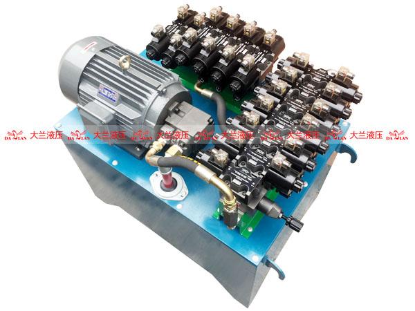 大兰13缸高压液压系统