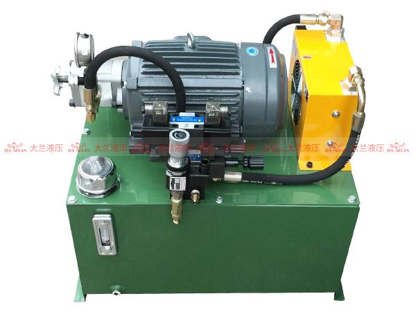 大兰4KW齿轮泵液压系统