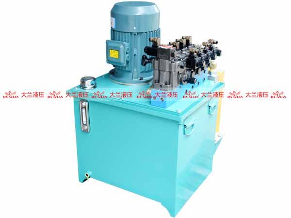 大兰立式高压液压系统