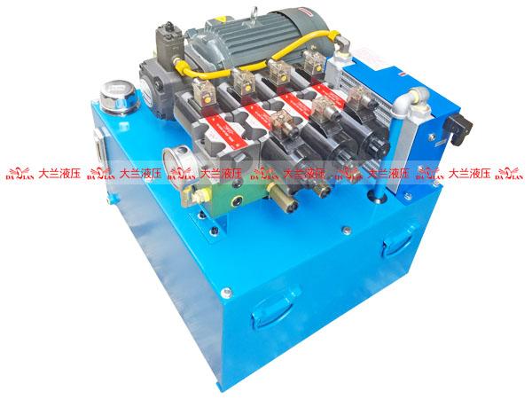大兰4缸低压液压系统