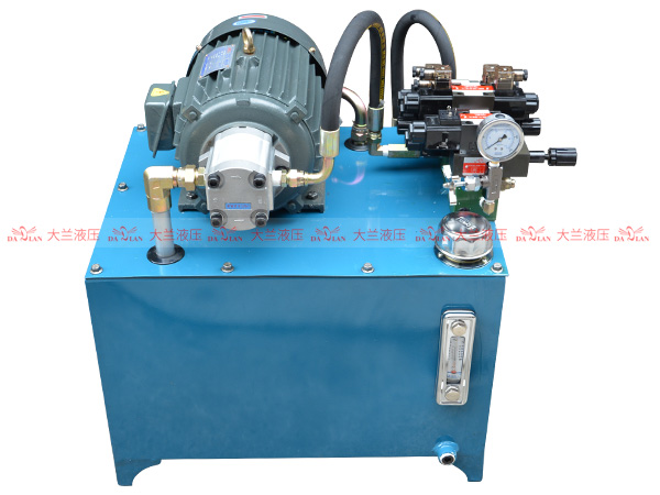大兰齿轮泵液压系统