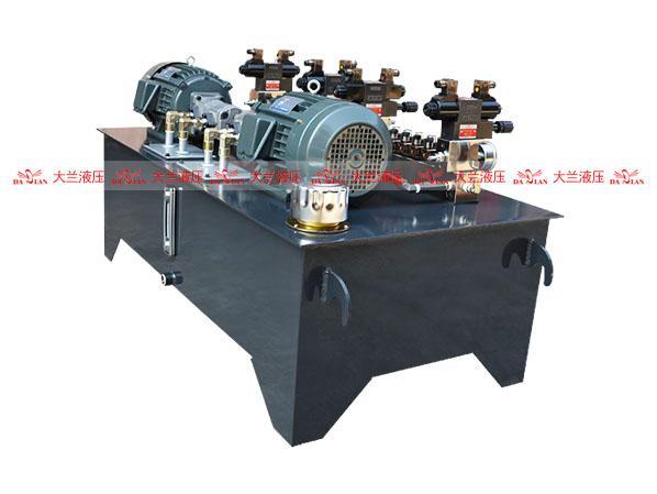 大兰插装集成阀液压系统