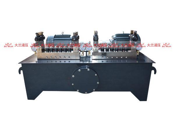 插装集成阀液压系统