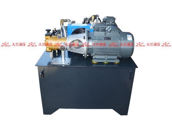 高低压控制液压系统