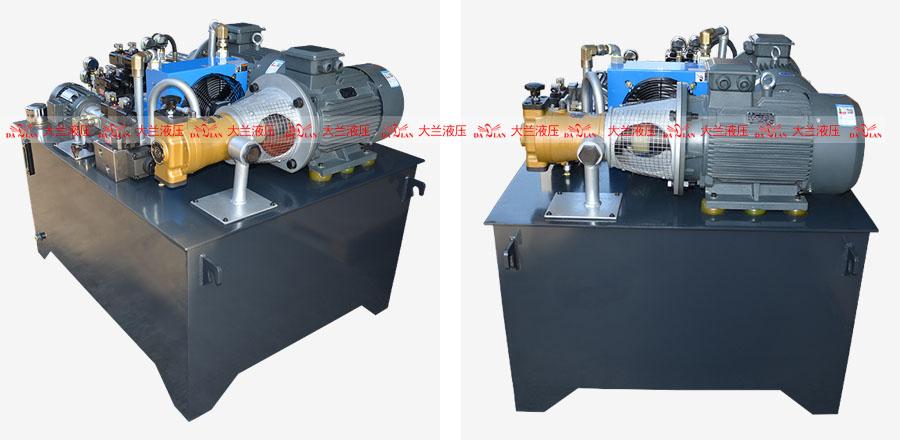 大兰高低压控制液压系统