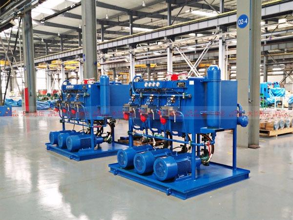 大兰液压系统成品仓库
