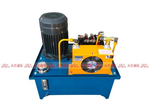 2.2KW立式电机液压站