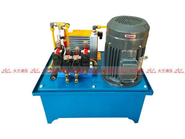 大兰2.2KW立式电机液压站