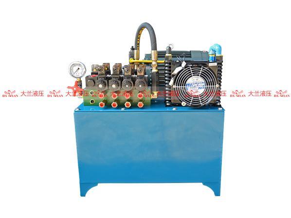 大兰5缸液压系统