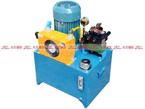 大兰7.5KW立式液压系统