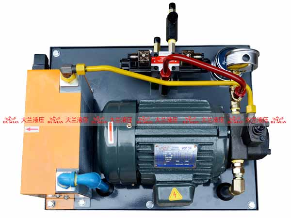 大兰液压连铸机液压系统