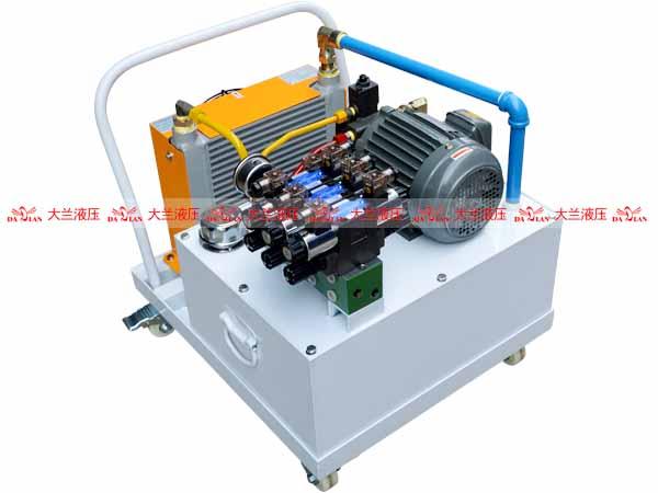 大兰液压厂家低压移动式液压系统
