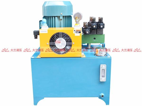 大兰成套液压系统泵站