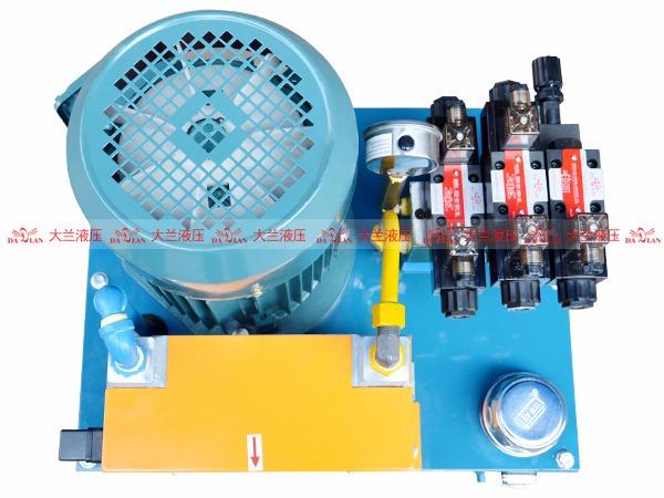 大兰液压系统泵站