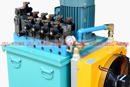 大兰液压系统油压泵站