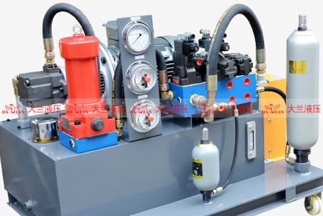 大兰液压系统动力站