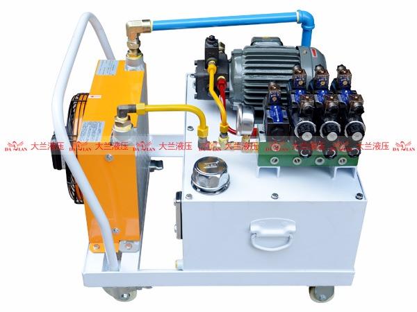大兰液压系统动力泵站