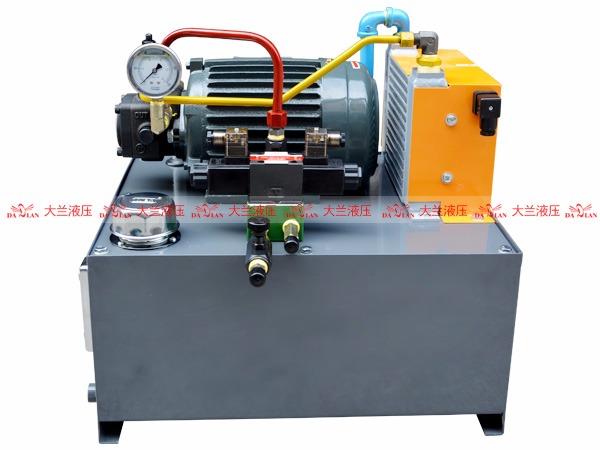 大兰液压系统液压泵站